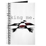 KING ME Checkers Journal