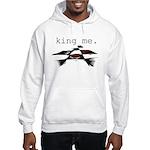 KING ME Checkers Hooded Sweatshirt