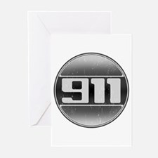 911 Cars Greeting Cards (Pk of 10)