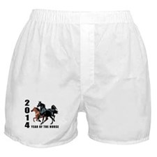2014 Year of The Horse Boxer Shorts