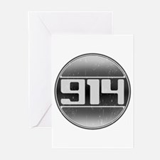 914 Cars Greeting Cards (Pk of 10)