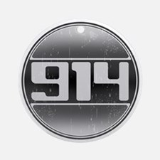 914 Cars Ornament (Round)