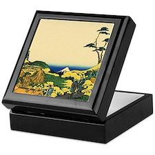 Shimomegurot by Hokusai Keepsake Box