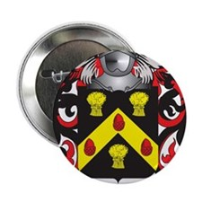 "Opie Coat of Arms (Family Crest) 2.25"" Button"
