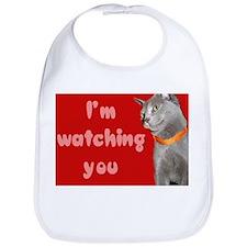 Watching you cat Bib