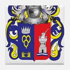 Oquendo Coat of Arms (Family Crest) Tile Coaster
