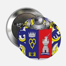 "Oquendo Coat of Arms (Family Crest) 2.25"" Button"