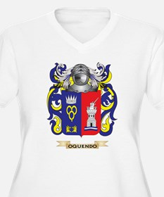 Oquendo Coat of Arms (Family Crest) Plus Size T-Sh