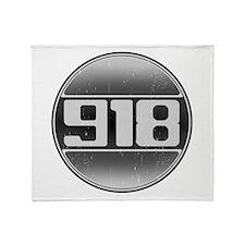 918 Cars Throw Blanket