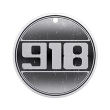 918 Cars Ornament (Round)