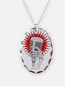Rockabilly Microphone Necklace