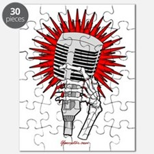 Rockabilly Microphone Puzzle