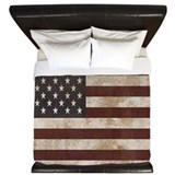 American flag Luxe King Duvet Cover