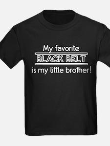 Little Brother Black Belt T