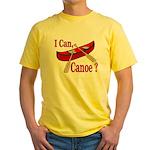 Paddle Faster Yellow T-Shirt