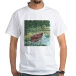 Paddle Faster White T-shirt