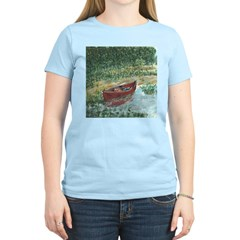 Paddle Faster Women's Pink T-Shirt