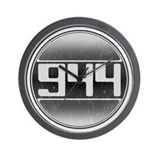 944 Cars Wall Clock