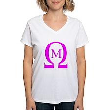 Omega Mu Ash Grey T-Shirt