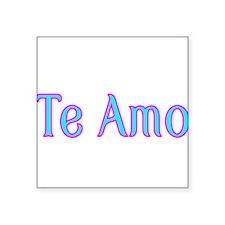 Te Amo-I love you Sticker