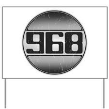968 Cars Yard Sign