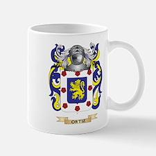 Ortiz Coat of Arms (Family Crest) Mugs