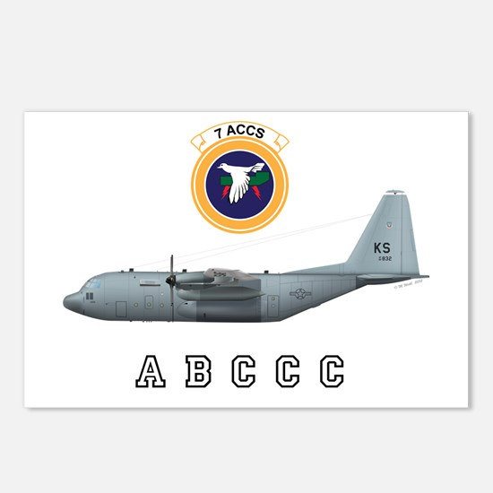 ABCCC 7 ACCS Postcards (Package of 8)