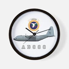 ABCCC 7 ACCS Wall Clock