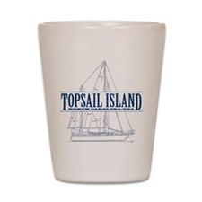 Topsail Island - Shot Glass