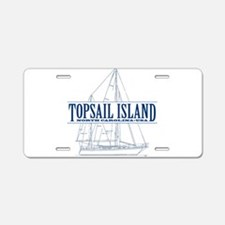 Topsail Island - Aluminum License Plate