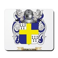 Osbourn Coat of Arms (Family Crest) Mousepad