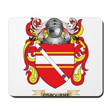 Osbourne Coat of Arms (Family Crest) Mousepad