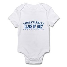 Class of 2007 - Christianity Infant Bodysuit