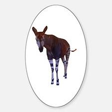 okapi 3 Oval Stickers