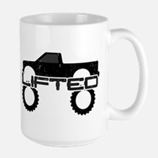 Lifted Pickup Truck Mug