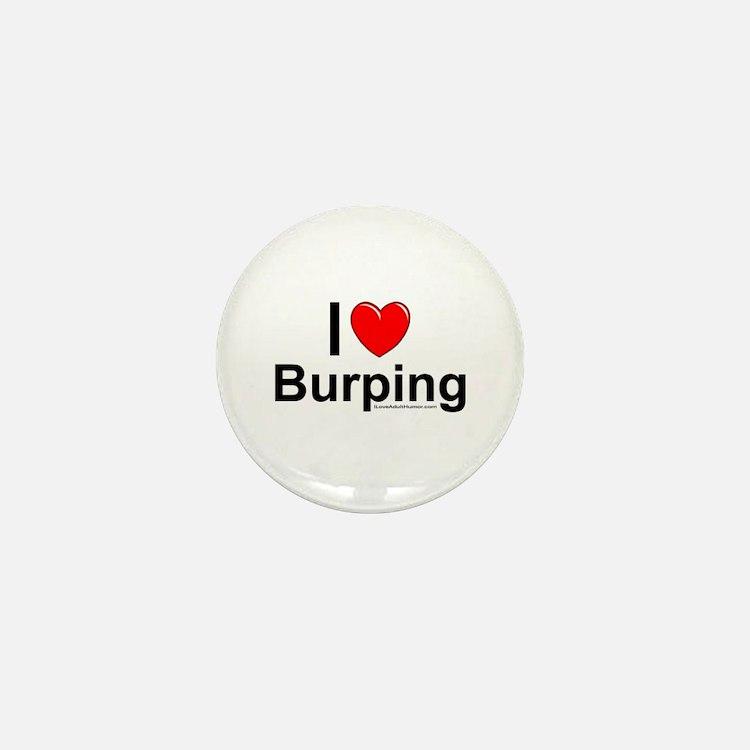 Burping Mini Button