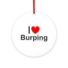 Burping Ornament (Round)