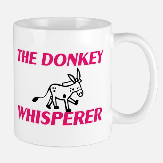 The Donkey Whisperer Mugs