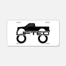 Lifted Pickup Truck Aluminum License Plate