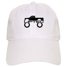 Lifted Pickup Truck Baseball Cap