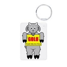 GOLO - Goats Only Live Once Keychains