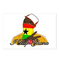 I rep Ghana Postcards (Package of 8)