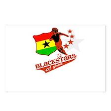 black stars of Ghana Postcards (Package of 8)