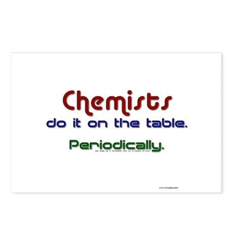 Chemists Table Postcards (Package of 8)