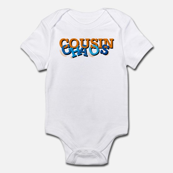 cousin chaos Infant Bodysuit