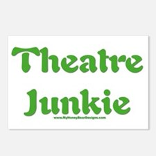 Theatre junkie. Postcards (Package of 8)