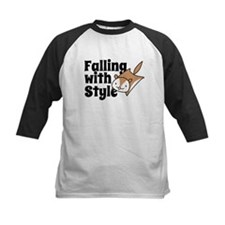 Falling with Style Squirrel Baseball Jersey