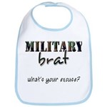 Military Brat Bib