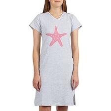 Pink Starfish Women's Nightshirt