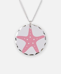 Pink Starfish Necklace